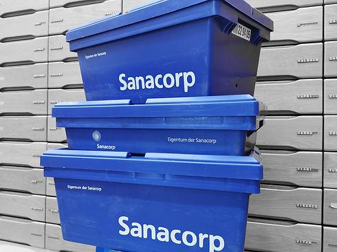 Sanacorp | Arzenimittel schnell vor Ort | Schubladen | Großhandel | Lieferung von Arzneimitteln