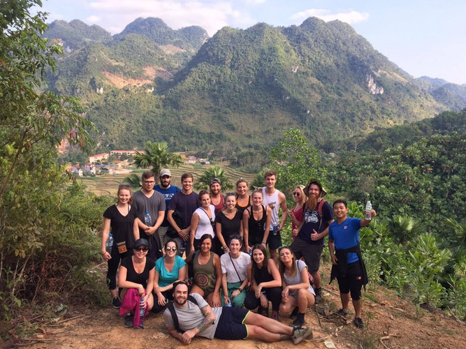 Mai Chau trek + school