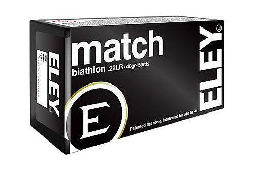 22 LR 40gr Eley Match Biathlon