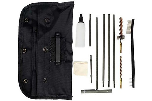 TAC SHIELD CLEANING KIT AR15/M16 GI FIELD BLACK POUCH