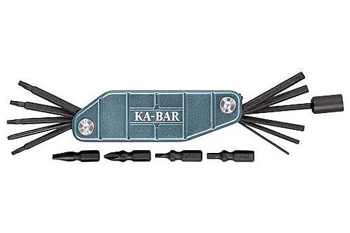 """KA-BAR GUN TOOL 5"""" W/ALLEN/ FLAT/PHILLIPS/PUNCH/TORQUE"""