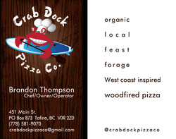 Crab Dock Pizza Co.