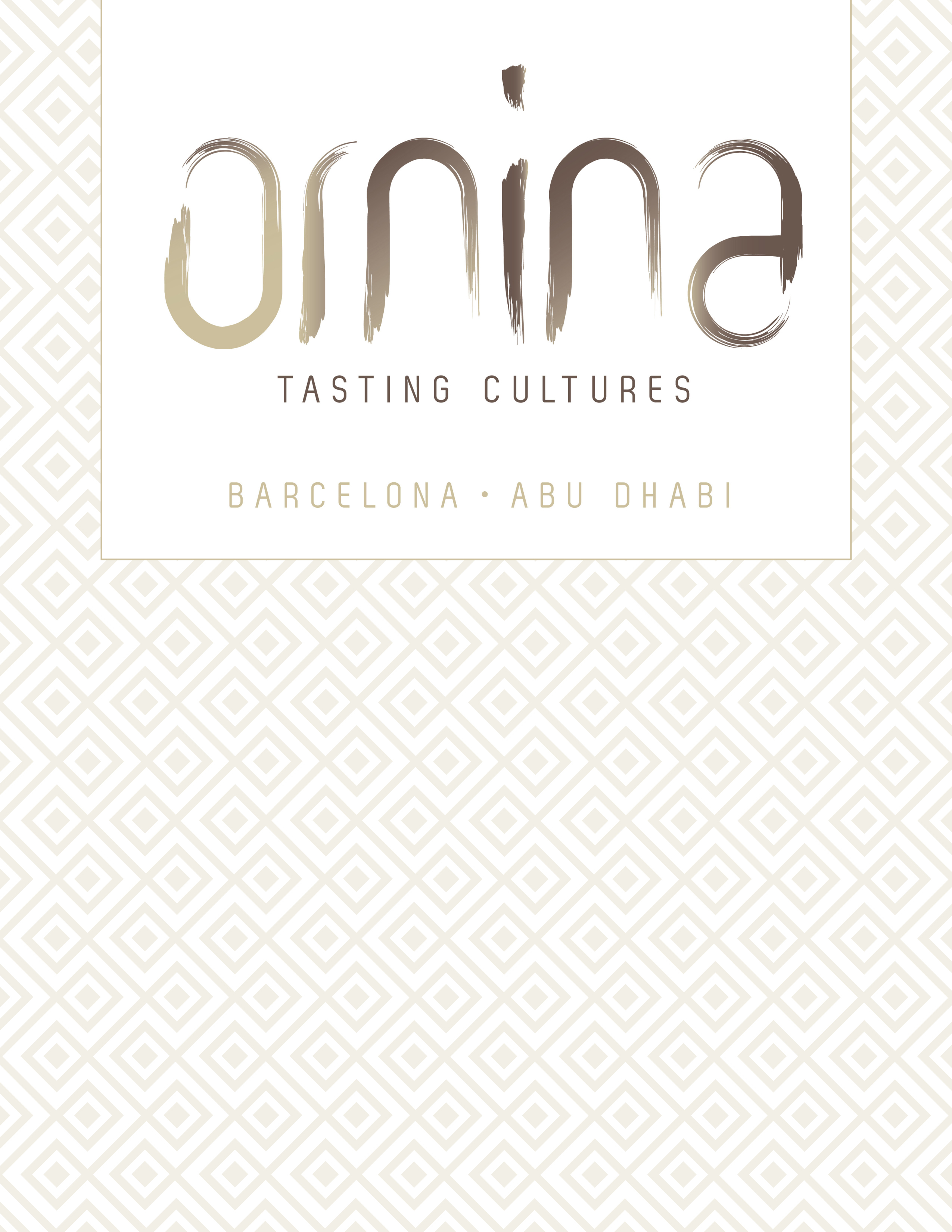 Ornina Culinary Menu