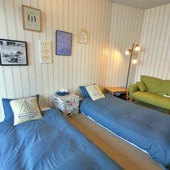 2階ツインルーム(シングルベッド2台)