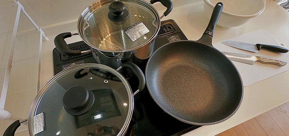 完整烹飪器材