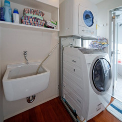 うれしい洗濯機と衣類乾燥機をご用意しております