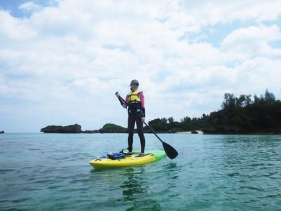 戶外活動:沖繩中部 青洞SUP立槳衝浪體驗
