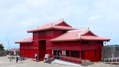 沖繩景點:那霸市 首里城公園 琉球王國皇宮