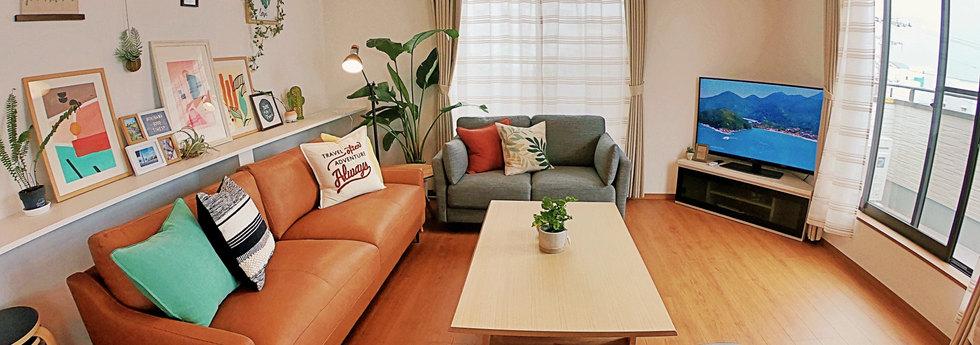 寬敞舒適大客廳