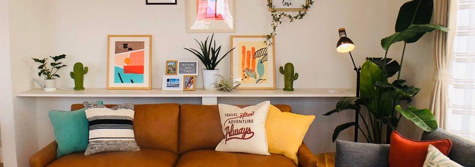 溫暖舒服的沙發