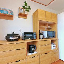 基本的な調理器具や食器類などはご用意しております
