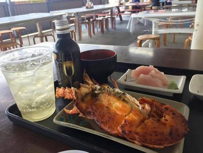 沖繩美食:中部 泡瀨漁港吃龍蝦パヤオ直売店