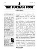 THE PURITAN POST ISSUE NO. 1.jpg