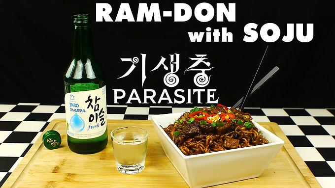 RAM-DON (AKA JJAPAGURI) with SOJU from PARASITE (2019)
