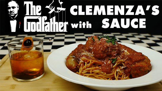 THE GODFATHER with CLEMENZA's SAUCE from THE GODFATHER (1972)