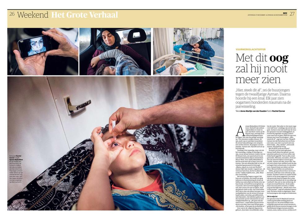 NRC Handelsblad Met dat oog zal hij nooit meer zien