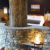 Luxurious Winvian Farm Charter Oak Cottage Bedroom