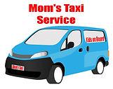 Mom's Taxi Service Van