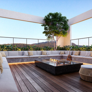 Viva Arquitetura - Terraço Sky