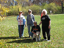 Penny K. and fox terrier Oct TDS 2012.jp