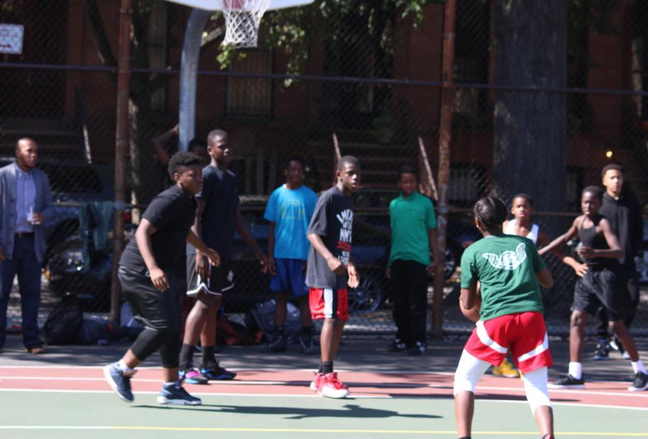 Basketball at recess