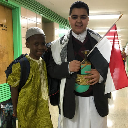 Showing off our cultures!