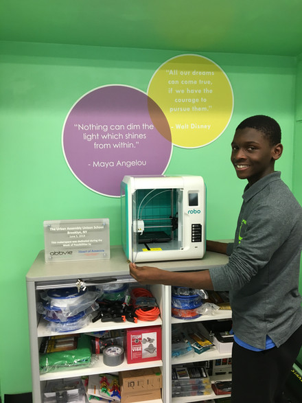 Dyan and the 3D Printer