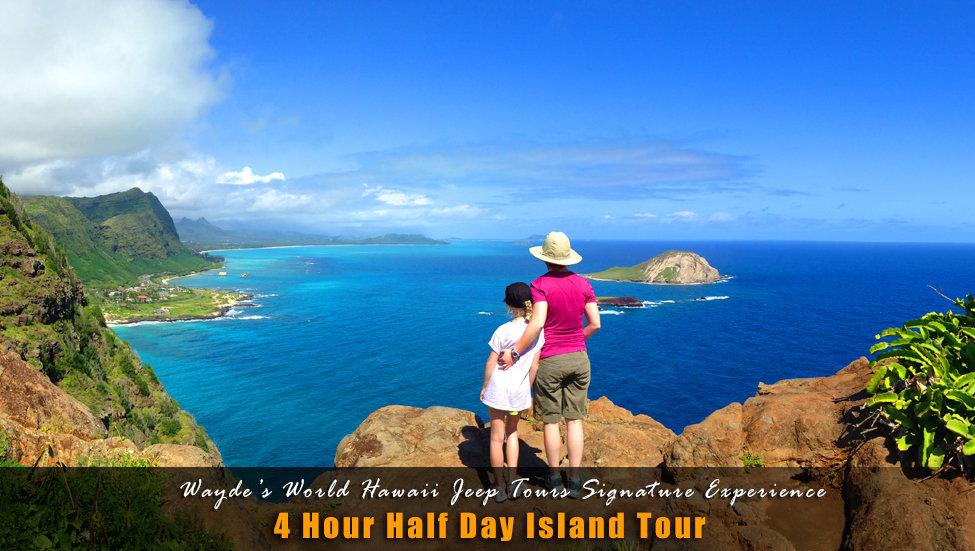 4 Hour Half Day Island Tour