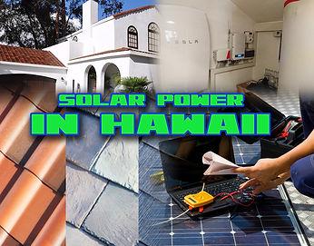 Solar Power in Hawaii