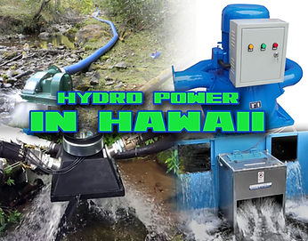 Hydro Electric Power in Hawaii