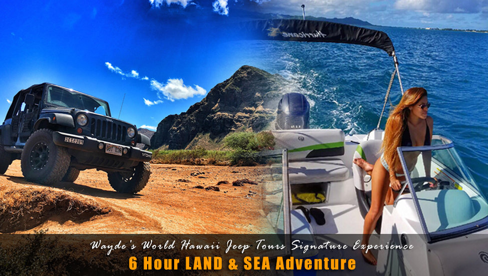 6 Hour Land & Sea *SPECIALTY Tour