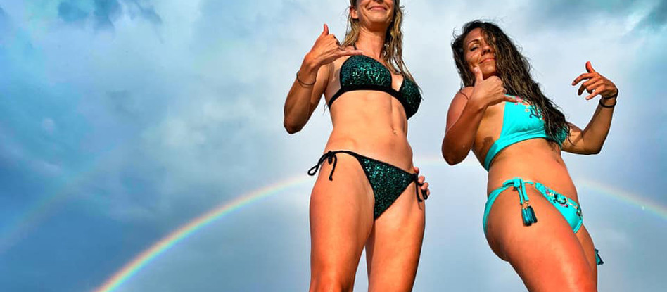 North Shore Beaches and Rainbows