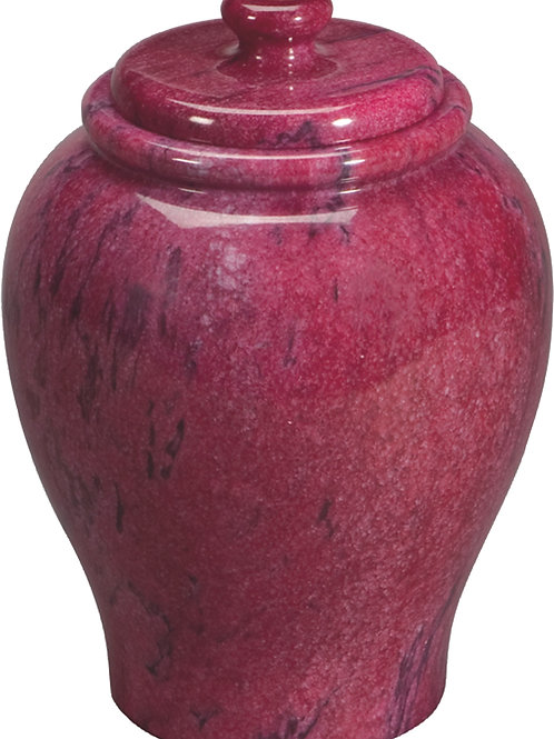 904R Azure Red Marble (Solid Marble)