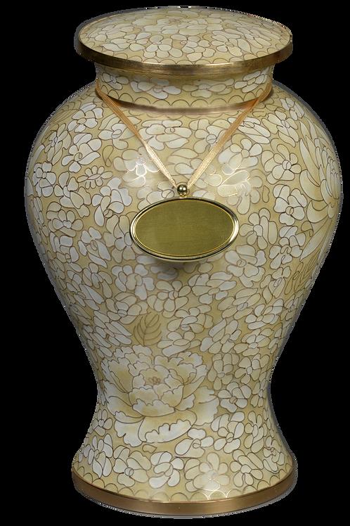 162L Elysse Opal Cloisonné (Solid Brass)
