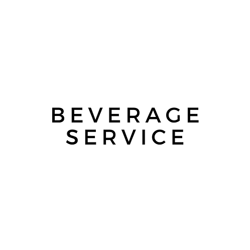 Beverages for Receptions