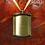 Thumbnail: C403 Bronze Frame Urn Pendant (Brass)