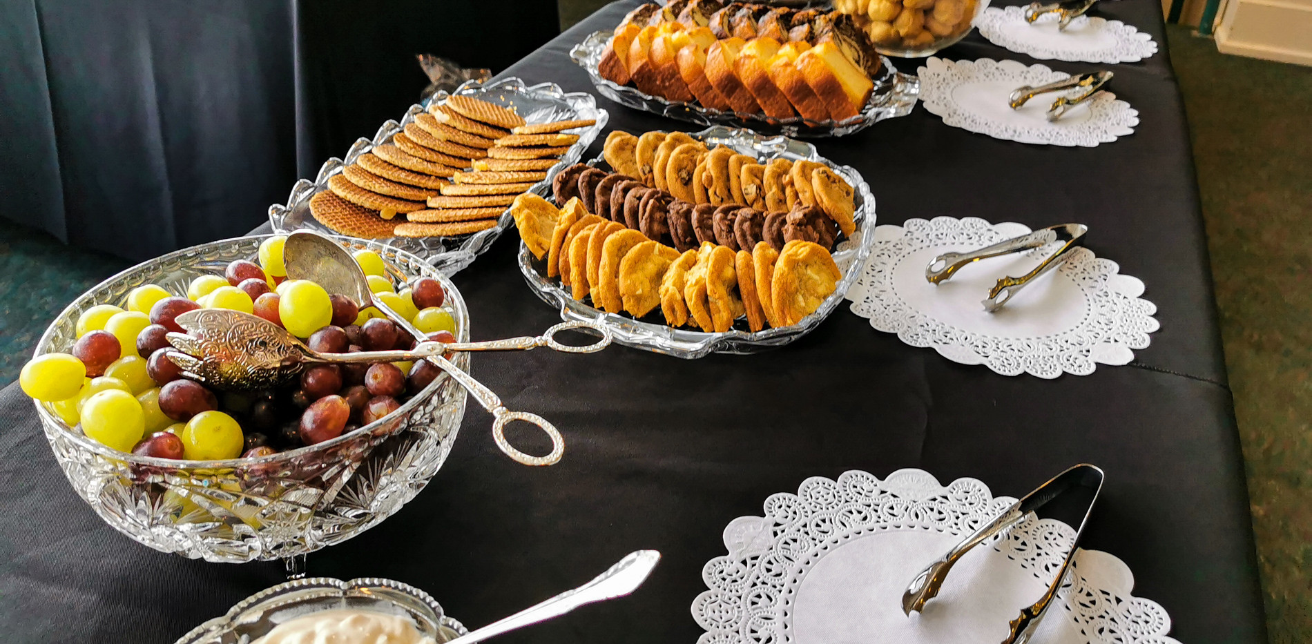 Assortments of Sweets and Pastries
