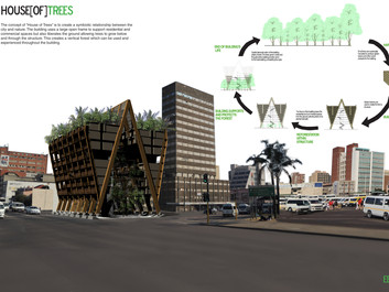 House of Trees: Wood Design Competition for the XIV World Forestry Congress