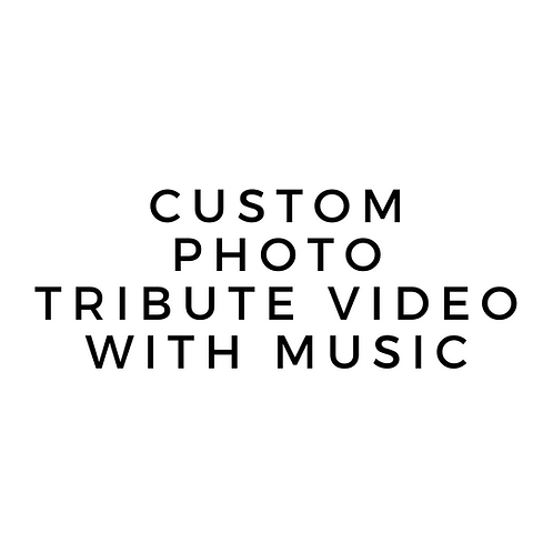 Photo Biography - Tribute - Set to Music