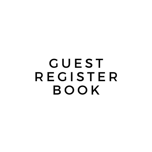 Basic Register Book for Service