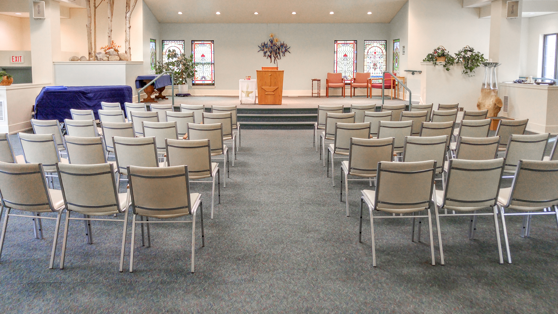 Chapel Area - Seats up to 200