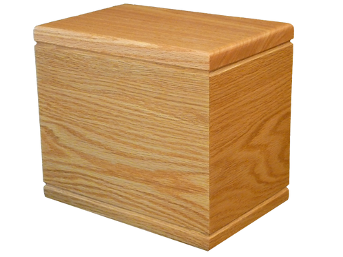Village Casket Maker Natural Oak-R