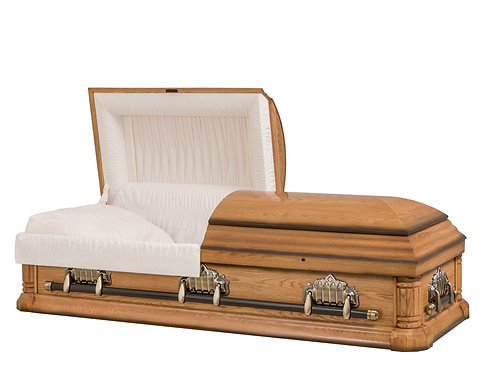 Victorian Cathedral 760 Oak Casket