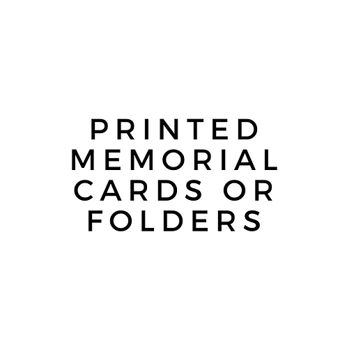 Printed - Service Folders (Default 50)
