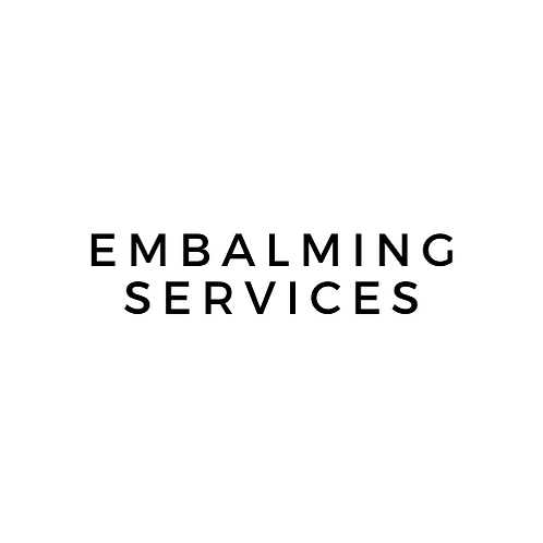 Embalming Services