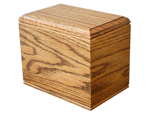 Village Casket Maker Dark Oak-B