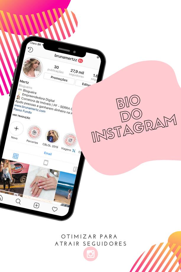 Como atrair mais seguidores pela BIO do Instagram!