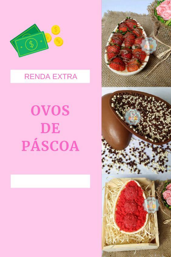 RENDA EXTRA COM OVOS DE PASCOA | 2019