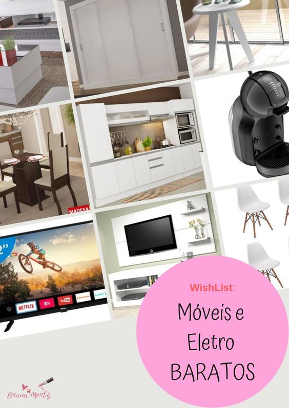 WishList Home: Móveis baratos para a casa com frete GRATIS!