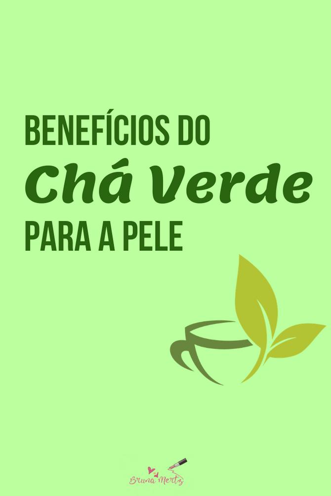 Benefícios do Chá Verde para a pele